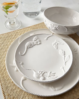 Lynn Chase Designs Jaguar Blanc Dinnerware