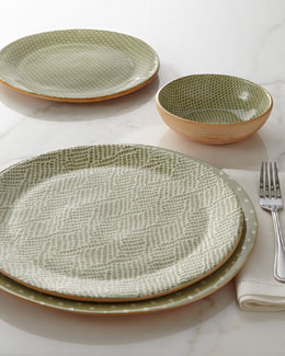 TERRAFIRMA CERAMICS Citrus Patterned Dinnerware