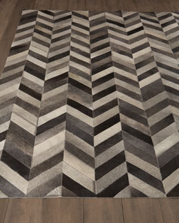 Chevron Hide Rug