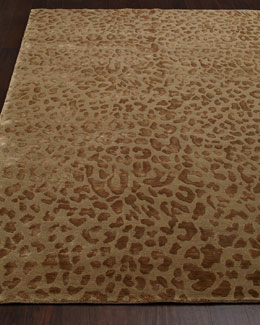"""Cloud Leopard"" Rug"