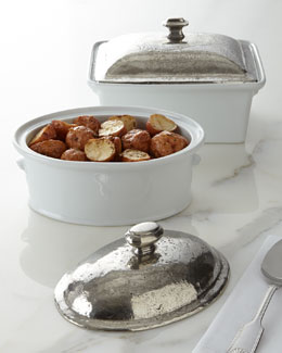 ValPeltro Covered Baking Dishes
