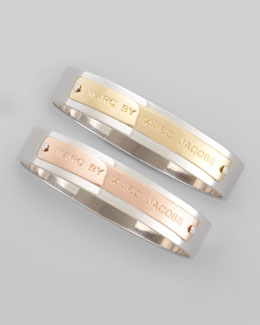 MARC by Marc Jacobs ID Logo Bangle