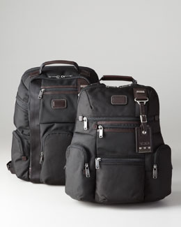 Tumi Alpha Bravo Knox Backpack & Kingsville Brief Pack