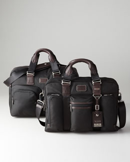 Tumi Alpha Bravo Everett Tote & McNair Slim Brief