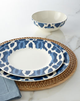 Aerin for Lenox Deep Sea Ikat Dinnerware