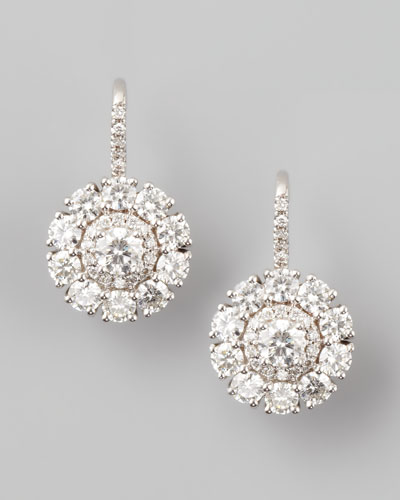 Petite Deco Treasures Princess Diamond Drop Earring