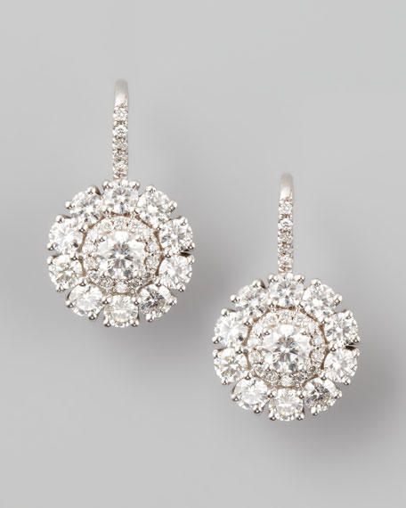 Petite Deco Treasures Princess Diamond Drop Earrings, G/SI1 2.43
