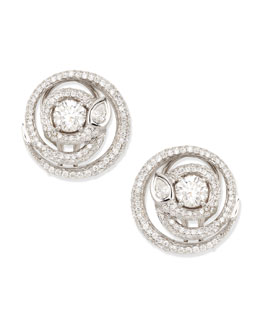 Maria Canale for Forevermark Diamond Serpent Stud Earrings