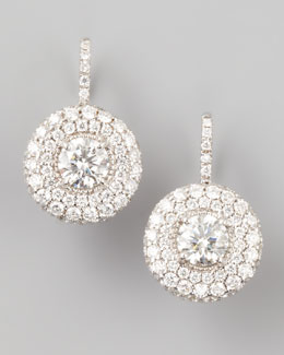 Forevermark Maria Canale for Forevermark Petite Deco Treasures Luna Diamond Drop Earrings