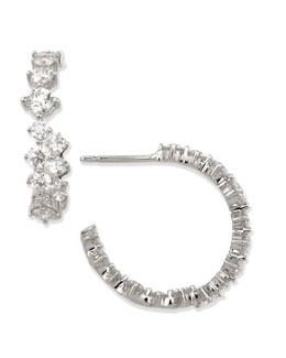 Maria Canale for Forevermark Anniversary Collection Diamond Hoop Earrings