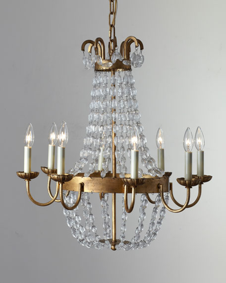 Visual Comfort Paris Flea Market Small 8-Light Chandelier