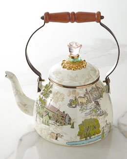 MacKenzie-Childs Aurora Tea Kettle