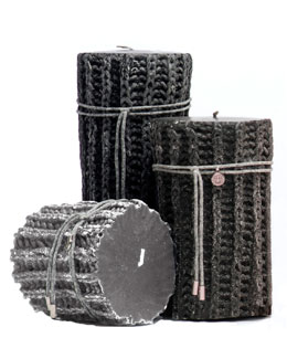 "Brunello Cucinelli ""Braided"" Candles"