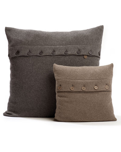 Brunello Cucinelli Flat-Braided Pillows