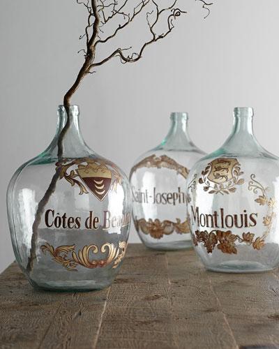"""""""Wine Jug"""" Vases"""