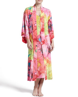Natori Gala Satin Robe & Gown
