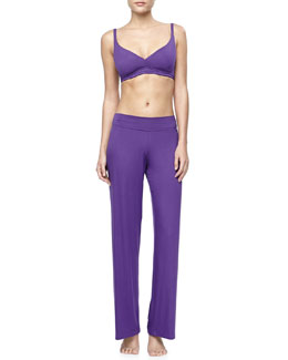 Cosabella Talco Jersey Wireless Padded Bra & Pajama Pants