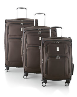 DELSEY LUGGAGE INC. Brown Helium Breeze 4.0 Luggage Collection