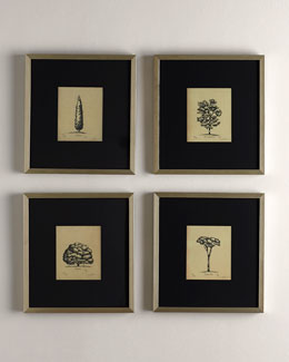 Black & Gold Tree Prints