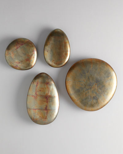 "Patina ""Stone"" Sculptural Wall Decor"