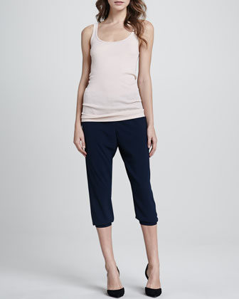 Ribbed Favorite Tank & Jersey Cropped Pants
