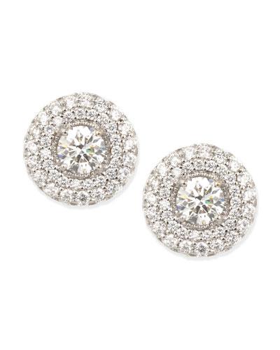Petite Deco Treasures Luna Stud Earrings