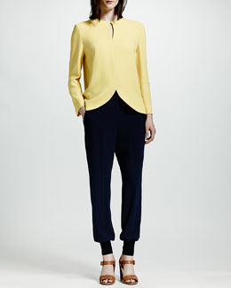 Stella McCartney Tulip-Hem Top & Cuffed Harem Pants