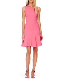 Michael Kors  Flare-Skirt Dress & Carson Colorblock Sandal