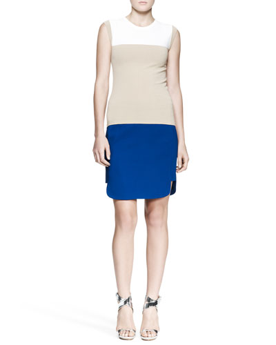 A.L.C. Gilmore Cap-Sleeve Sweater and McKay Short-Side Skirt
