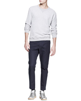 Maison Martin Margiela Crewneck Sweatshirt & Slim-Fit Trousers