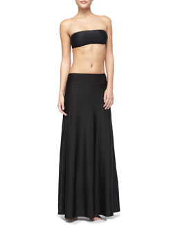 Cover Long Skirt & Bandeau Bra