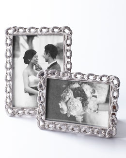 Jeweled Chain-Link Frame