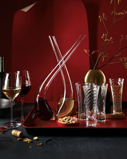 Simon Pearce Decanters, Wine Glasses, & Flutes