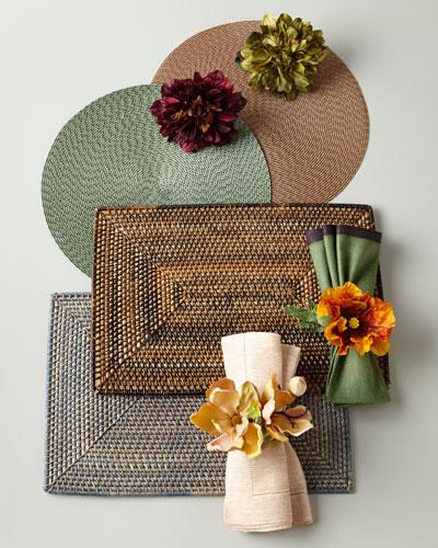 Deborah Rhodes Autumn-Hued Placemats & Napkins