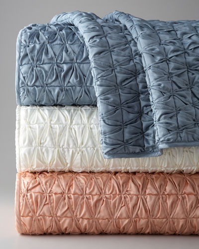 Condotti Shirred Coverlets