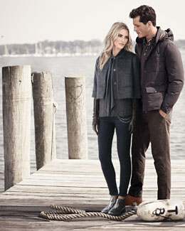 Brunello Cucinelli His & Hers Jackets, Sweaters, Pants, & Accessories