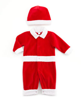Kissy Kissy Christmas Delights Playsuit & Hat