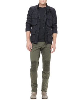 Belstaff Lightweight Field Jacket & Hartford Biker Pants