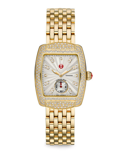 MICHELE Urban Mini Diamond Watch Head & Bracelet