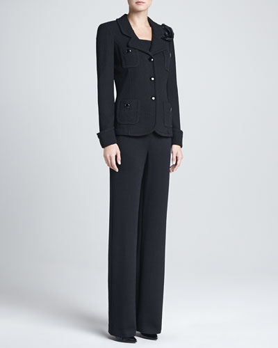 St. John Collection The Parisian, Santana Contour Tank & Santana Pants