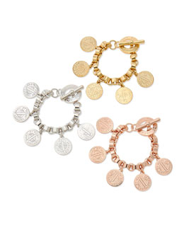 MARC by Marc Jacobs Toggle-Clasp Charm Bracelet