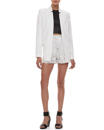 Lost at Heart Long Blazer, Soul Fire Leather Crop Top & Terrible ...