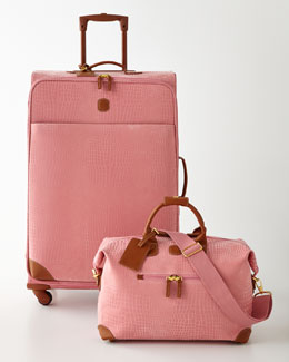 Bric's MySafari Pink Luggage Collection