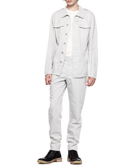 Maison Martin Margiela Lightweight Field Jacket, Crew T-Shirt & Flush-Pocket Trousers