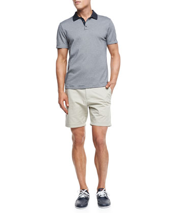 Boyd Polo in Census & Zaine S Shorts in Kentwood