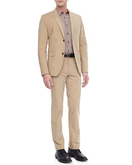 Theory Rodolf CF Sport Coat in Honaker, Zack PS Sport Shirt in Keyport & Marlo Pants in Honaker