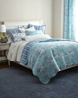 C & F Enterprises Inc Hampstead Toile Bedding