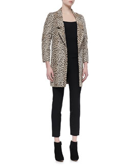 Diane von Furstenberg Britta Animal-Print Jacket & Lupa Cropped Leggings