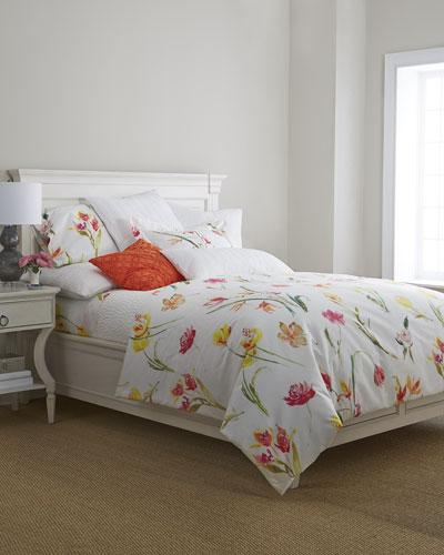 Watercolor Flowers Bedding