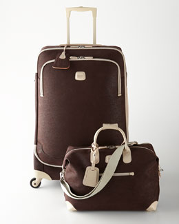 Bric's Capri Mocha Luggage Collection